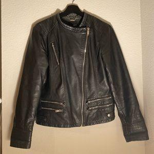 a.n.a black leather jacket